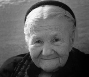 A photo of Irena Sendler.  This photo was taken in 2007.