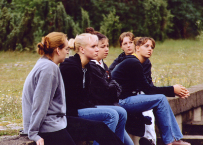 Students at Treblinka